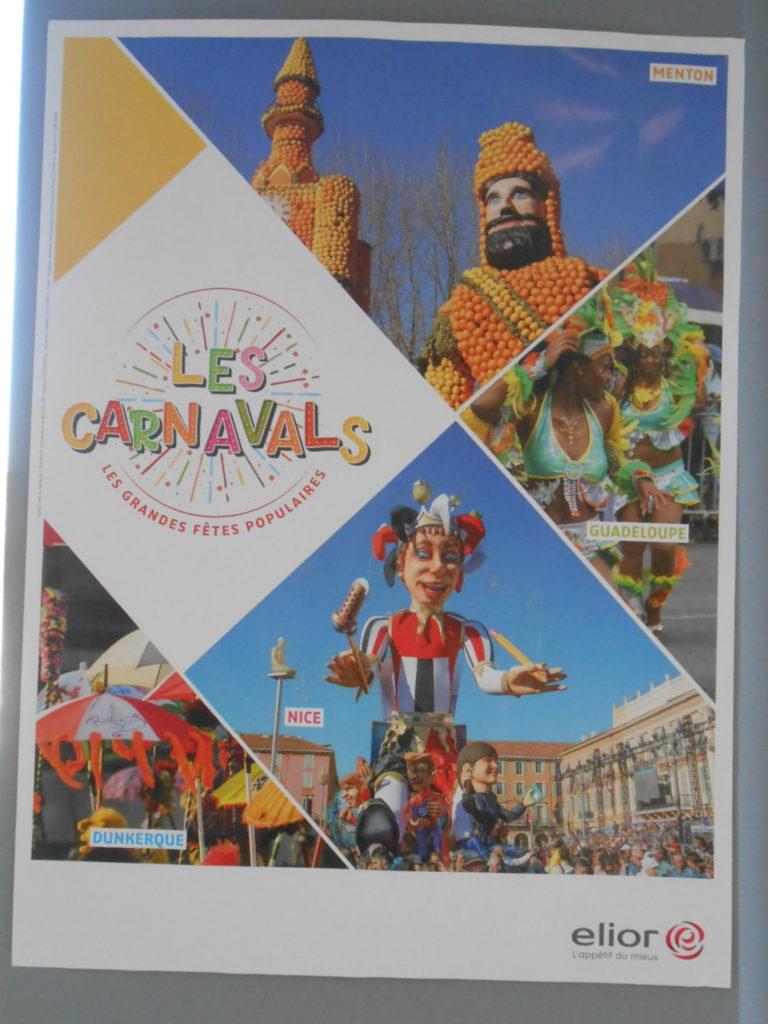 Repas à thème : Le carnaval